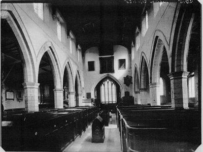 pre restoration interior
